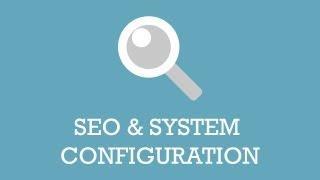JoomlaShine Template Configuration   Video 6: SEO&System Configuration