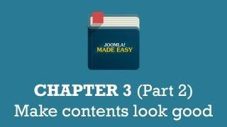 Chapter 3 (Part 2) | Make contents look good