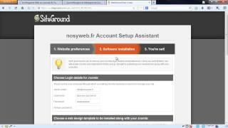 Joomla! : Créer Un Site Internet Professionnel De A à Z En 15min