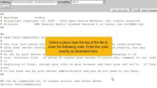 Hoe stel je de PHP instellingen van een Joomla! 2.5 website veilig in met cPanel