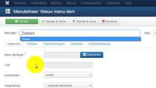 de joomla zoekresultaten pagina aanpassen