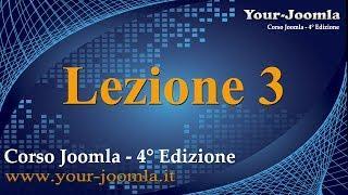 Pannello Amministrativo Di Joomla. Corso Joomla 3 - Lezione 3