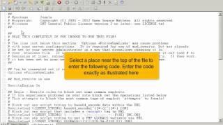 Hoe stel je de PHP instellingen van een Joomla! 2.5 website veilig in via FTP
