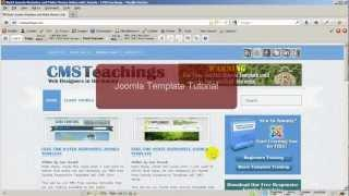 Joomla Template Tutorial