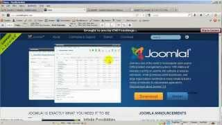 How to create a Splash Page in Joomla