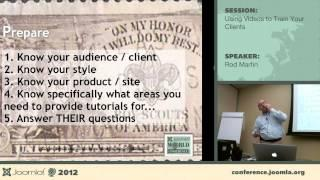 Using Videos to Train Your Clients - Rod Martin